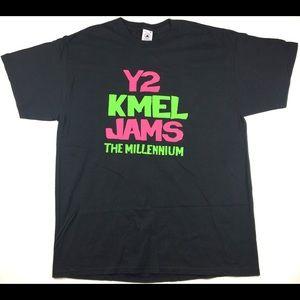 Vintage Y2 KMEL JAMS The Millennium The PJ's Shirt